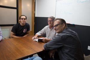 AA style meeting roundtable