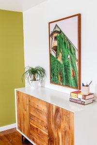 luxury sober apartment art and decor