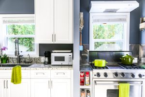 recover-integrity-sober-living-private kitchen-blue