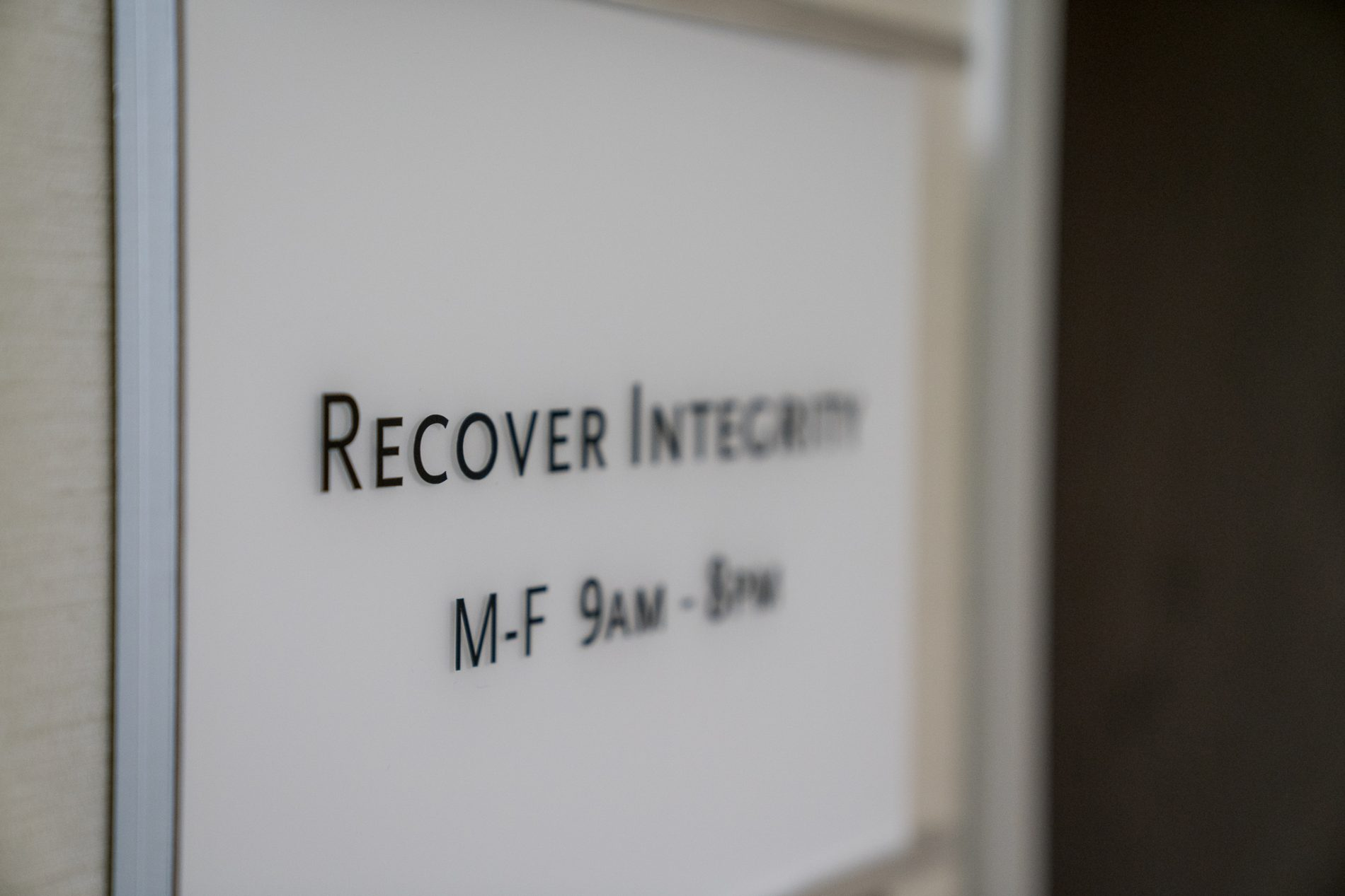 Recover Integrity Individualized Drug Recovery Care