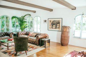 beautiful luxury sober living suite in santa monica