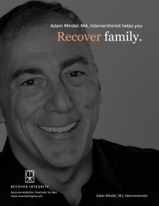Recover Integrity Helps You: Recover Family